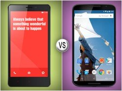 Xiaomi Redmi Note Vs Google Nexus 6: When Favorites Go Head to Head
