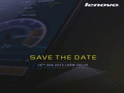 Lenovo A6000 Smartphone With 4G LTE Set for Launch in India at Rs 10,000