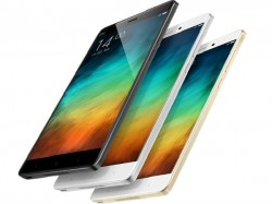 Xiaomi Launches Flagship Phablets Mi Note, Note Pro