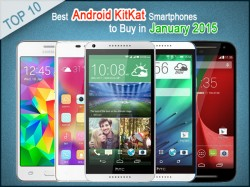 Top 10 Best Android KitKat Smartphones to Buy in January 2015