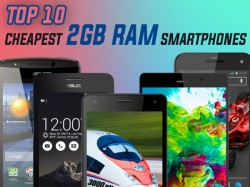 Top 10 Cheapest 2GB RAM Smartphones Available in India