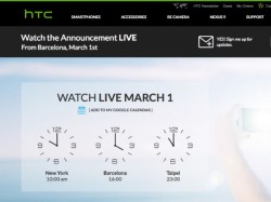 HTC One M9 Event Live Stream: How to Watch it Online [Live Webcast]
