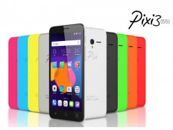 MWC 2015: Alcatel Unveiled Pixi 3 Smartphones and tablets