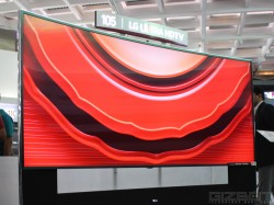 Big in Size, Bigger in Price: LG 105 Inch Curved Ultra HD 5K TV Shown Off At India Tech Show