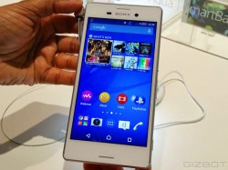 Sony Xperia M4 Aqua Hands on First Look: A Mid Ranger waterproof smartphone with Incredible Looks