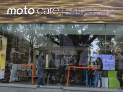Motorola Unveiled First Experience Centre 'Moto Care' in Bengaluru