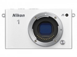 Nikon 1 J5 Mirrorless Camera Launched with 20.8MP BSI Sensor and 4K Recording