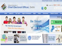 Delhi CEO's Website logged over 45 lakh hits on Polling Day