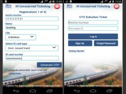 Railway launches Mobile App for Paperless Unreserved Tickets