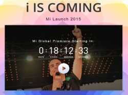 Watch Xiaomi Mi4i Launch Event Live Stream Here: i Is Coming [LIVE WEBCAST]
