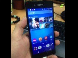 Leaked Sony Xperia Z4 looks just like the Xperia Z3