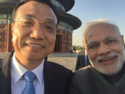 PM Narendra Modi's selfie with Chinese Premier Li Keqiang Goes Viral on Weibo