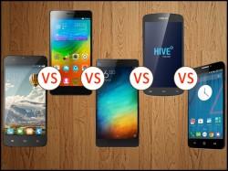 Octa-core at war: InFocus M530 vs Lenovo A7000 vs Xolo Omega 5.5 vs Yu Yureka vs Xiaomi Mi4i