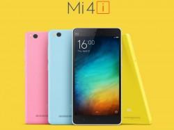 Xiaomi Mi 4i, Mi Power Bank to Go on Flash Sale Today at 2PM