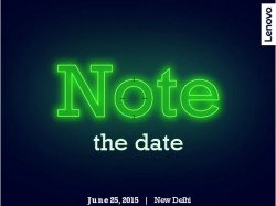 Lenovo K3 Note to Launch in India on June 25, Invite Confirms!