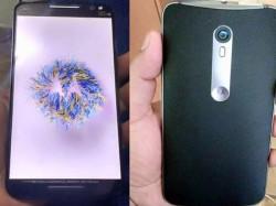 Motorola Moto X (2015) alleged Photos leaked online, show off Front Flash