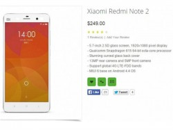 Xiaomi Redmi Note 2 Leaked Ahead of its Launch today