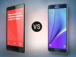 Samsung Galaxy Note 5 vs Xiaomi Redmi Note 2: Time to save some money or go for the Premium!