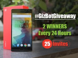 GizBot Giveaway: We're Are Giving Away 25 OnePlus 2 Invites!