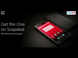 OnePlus One 64GB Sandstone Black Model Now Available On Snapdeal At Rs 21,998