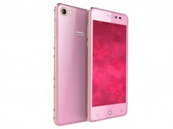 Intex Launches Aqua Glam Smartphone Specially For Female Customers At Rs. 7,690