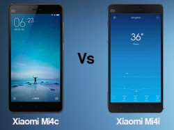 Xiaomi Mi4c vs Xiaomi Mi4i: What's the difference?