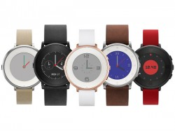 Pebble Time Round smartwatch with a circular dial, slim profile now official at $249