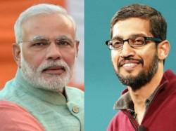 After Facebook, Modi visits 'Google Guru'