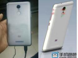 Xiaomi Redmi Note 2 Pro Leaked Pictures Suggest Metallic Body and Fingerprint Sensor