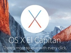 Apple's Mac OS X El Capitan now available for download