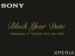 Sony Xperia Z5, Z5 Premium, Z5 Compact Scheduled for October 21 Launch in India