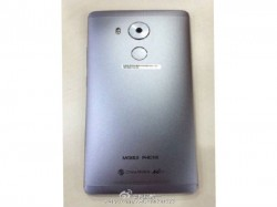 Huawei Mate 8 images leaked, sports metal body and fingerprint scanner