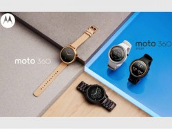 Moto 360 2015 Android Wear Smartwatch to launch in India on December 1