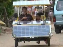 Truely Inspiring! A 64 Year Old Bengaluru Man Travels 3,000 kms in Self-built Solar Car