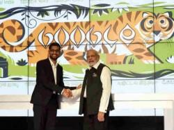 Google CEO Sundar Pichai to meet India President Pranab Mukherjee and PM Narendra Modi