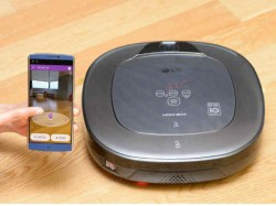 LG to reveal HOM-BOT Turbo+ robotic vacuum cleaner with augmented reality at CES 2016