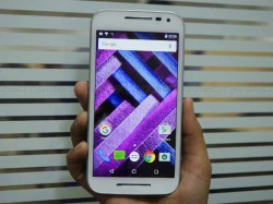 Up Close and Personal with Moto G Turbo Edition Launched in India Today! [First Look]