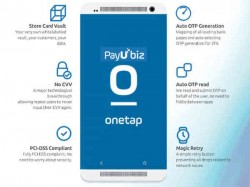PayUbiz launches 'One Tap' Mobile Payment technology to Fasten Payments on merchant sites