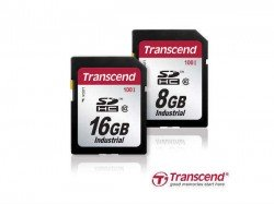 Transcend Releases 8GB & 16GB Industrial-Grade Memory Cards