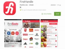 FirstHandle app launched in Bengaluru