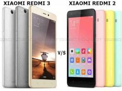 Xiaomi Redmi 3 vs Redmi 2: The new gen model to change the game for Xiaomi!