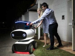 Domino's To Delivery Hot Pizza Right To Your Door Using Delivery Robot!