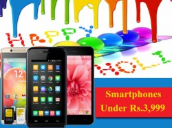 HAPPY HOLI SALE: Top 10 Smartphones Under Rs.3,999 To Gift Your Siblings