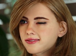 A man built robot that resembles Scarlett Johansson, to fulfill childhood dream