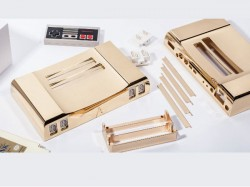 This 24K Gold plated re-modelled Nintendo Gaming Console would remind you of your childhood!