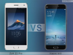 ZUK Z2 Pro vs Xiaomi Mi5: The battle of 'Premium' Chinese flagships!
