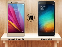 Huawei Honor 5X vs Xiaomi Mi4i: Bigger and better budget warrior gets an edge!