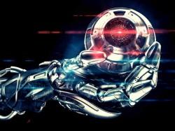 Robot's in-hand eye maps surroundings in 3D