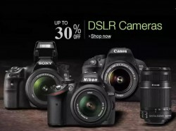 Best Camera deals: Top 10 DSLR Cameras with Upto 30% off in India