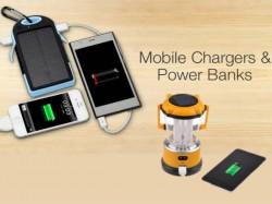10 Solar Smartphone USB Power Banks Cum Light Lanterns to Buy this Rainy Season